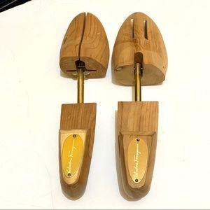 Salvatore Ferragamo shoe trees size medium wooden